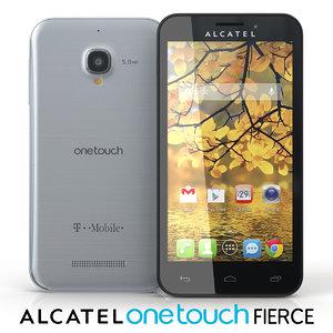 3d alcatel touch fierce
