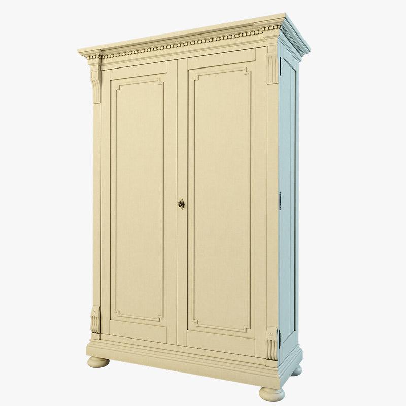 st james armoire 3d model