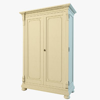 st james armoire 3d model