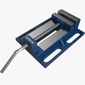 drill press vise irwin 3d model