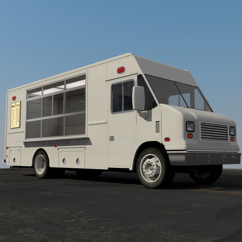 3d food truck mt45
