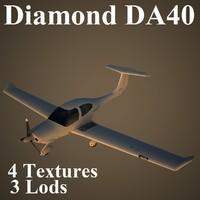 3d diamond da40