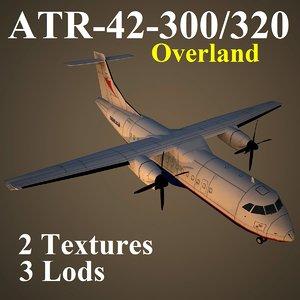 atr-42-300 ola 3d max
