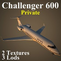 3d max bombardier challenger pvt