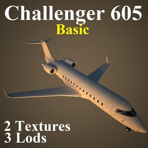 bombardier challenger 605 basic max