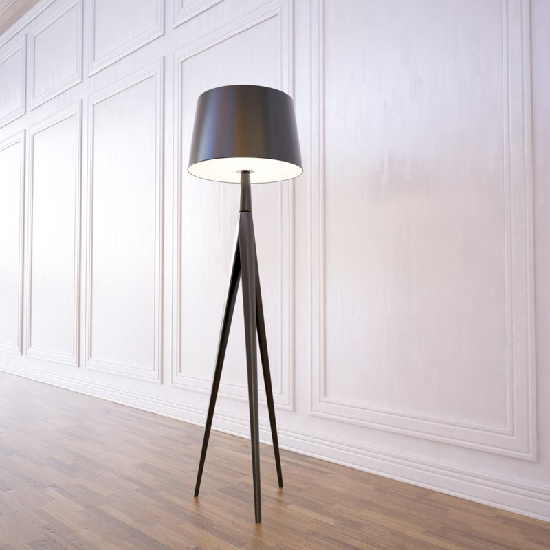 triana lamp metalarte 3ds