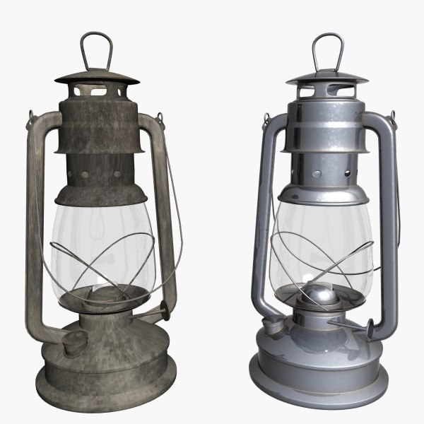 lantern old obj