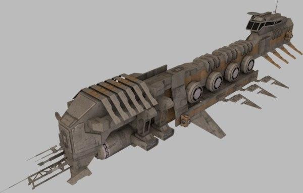3d ships exploration