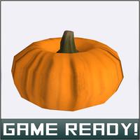 autumn pumpkin 6 fbx