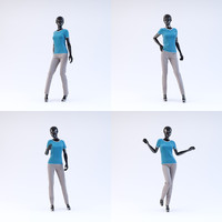 3d showroom mannequin 04