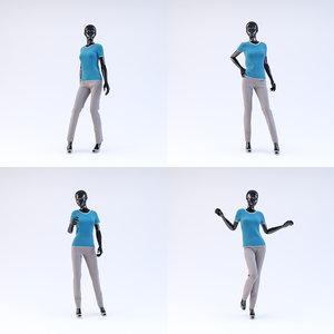 3d showroom mannequin 04