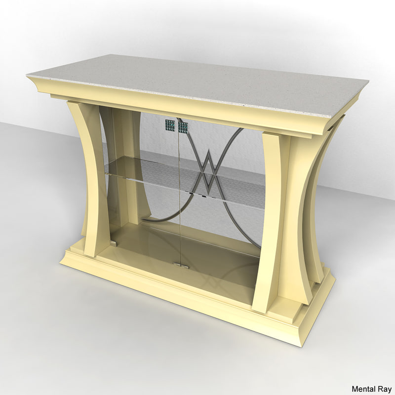 maya bar desk