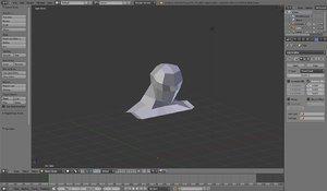 base head mesh 3ds