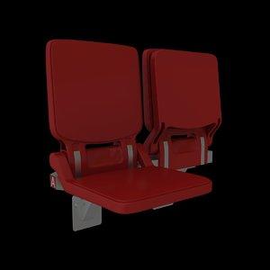 box seat 3d max