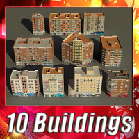 3d model building collections