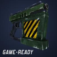 max futuristic gun