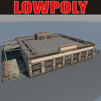 lowpoly Old Factory5