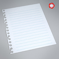 obj piece paper