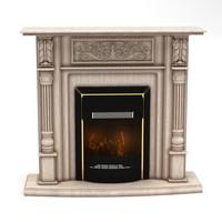 3d place fireplace