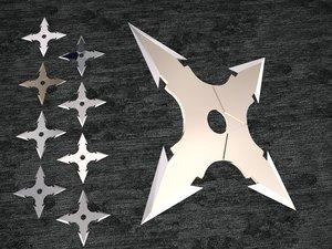 ninja star model