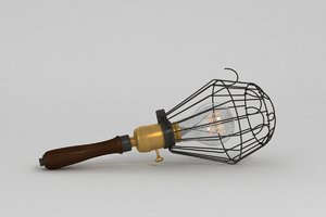 max vintage workman lamp