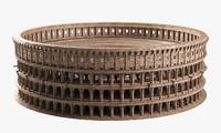 3d colosseum roman roma