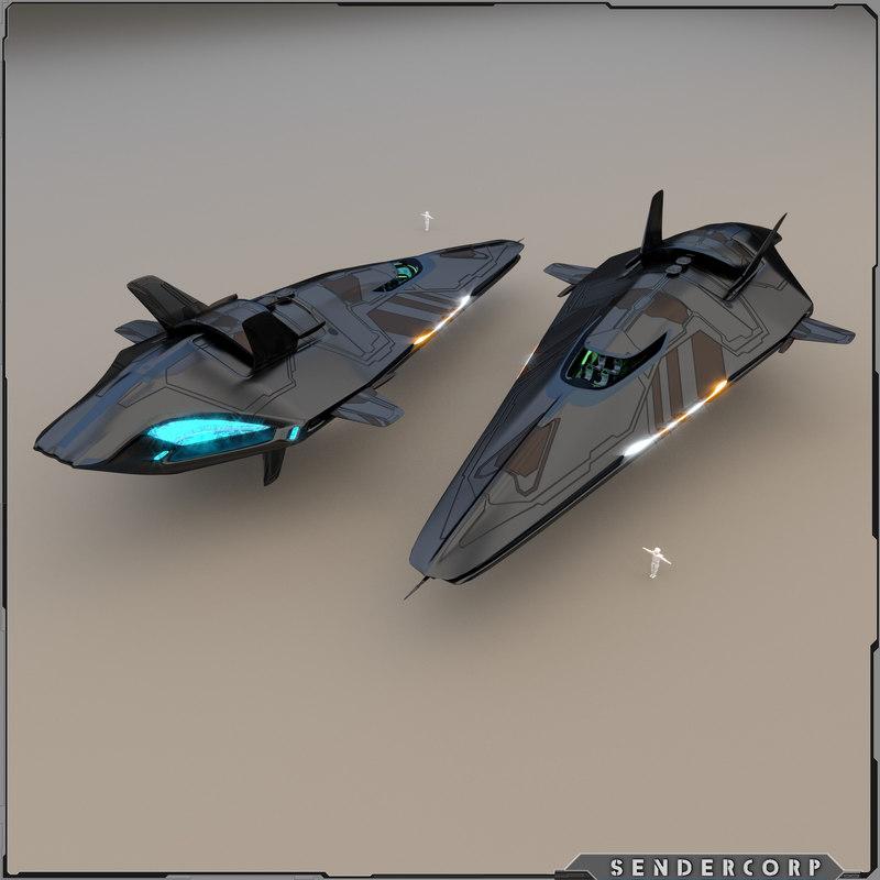 3d model neeb cruiser r3