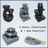 fountain basin 3d max