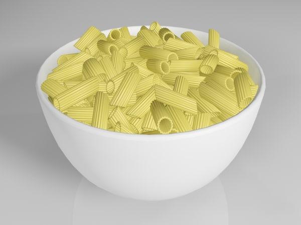 pasta food 3 3d model