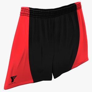 3d lwo basketball shorts