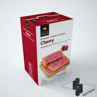 3d model valley cherry frosted