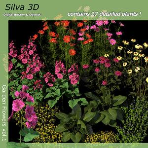 flowers 1 3d c4d