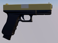 free glock 18c 3d model