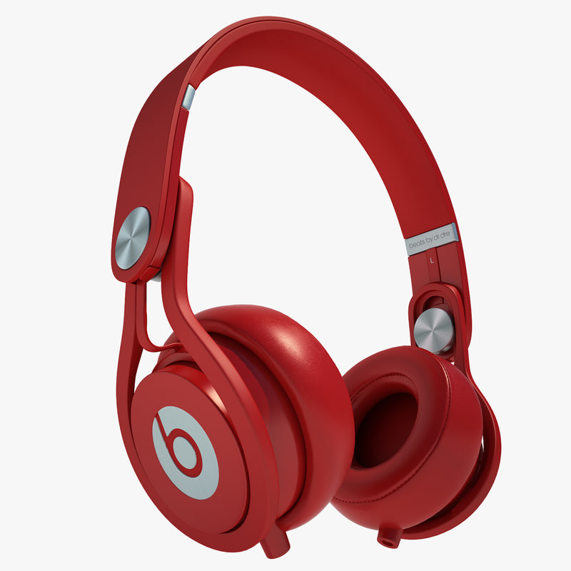 3d model headphones monster beats