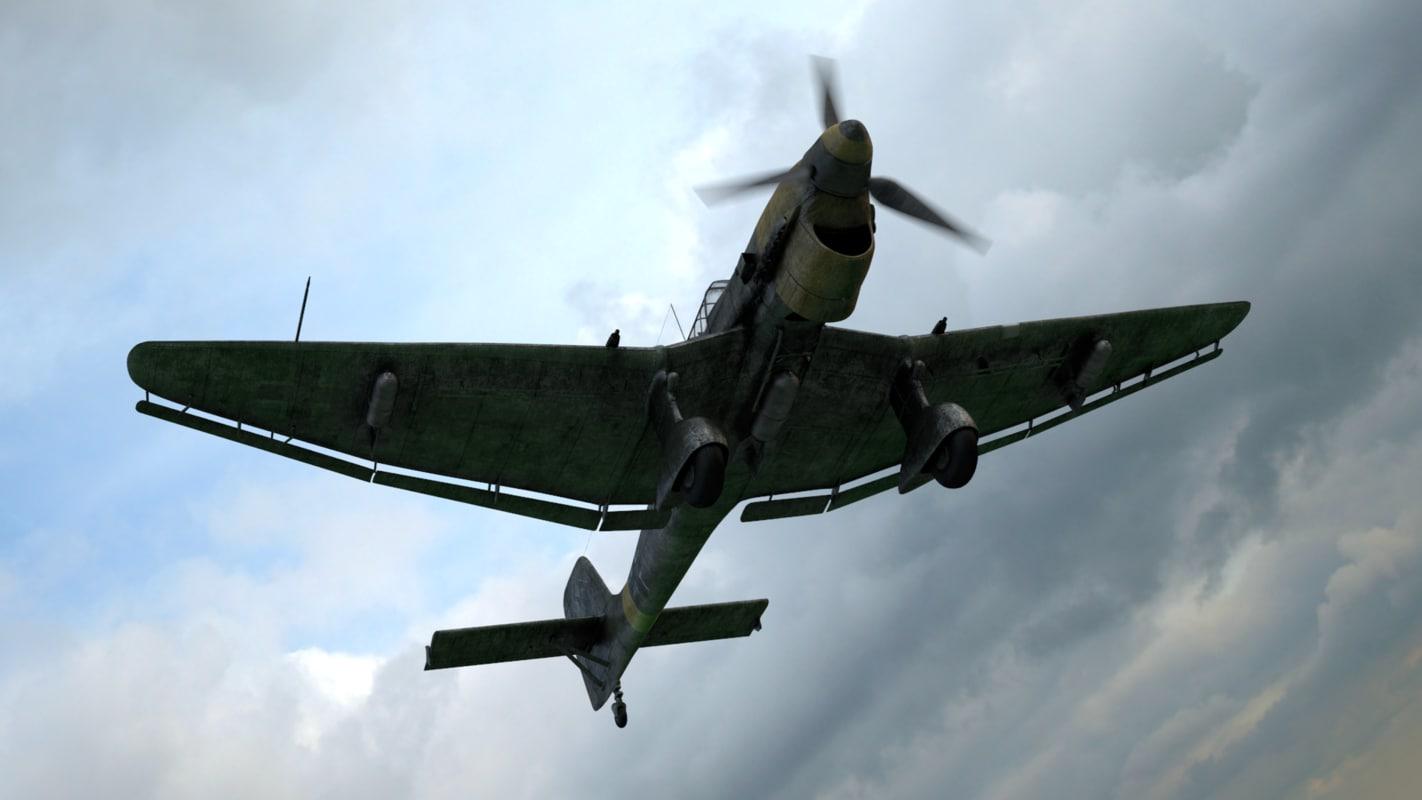 ju-87 dive bomber 3d 3ds