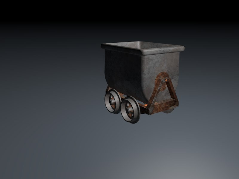 3d minecart