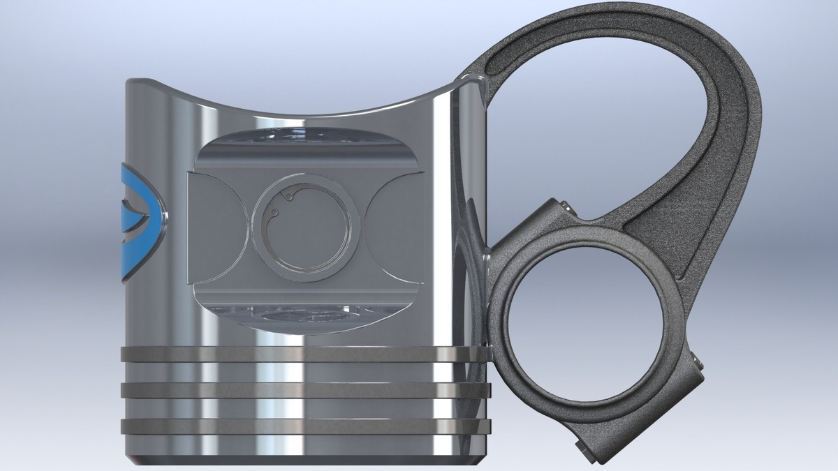 piston cup 3d model