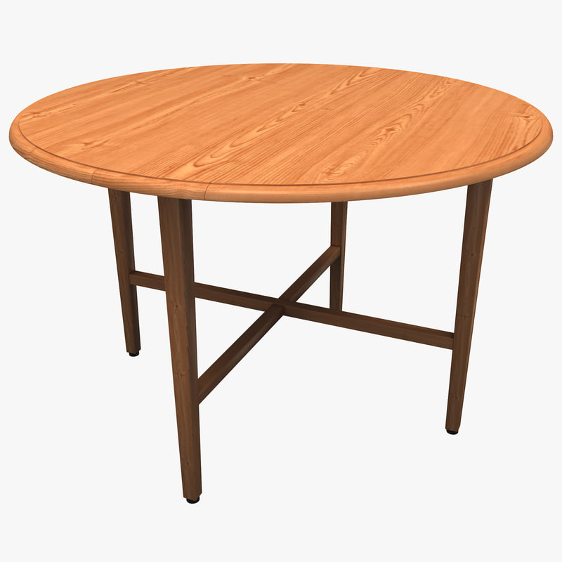 drop leaf table winsome 3ds