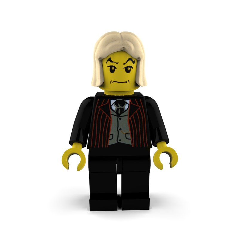 malfoy character draco 3d 3ds