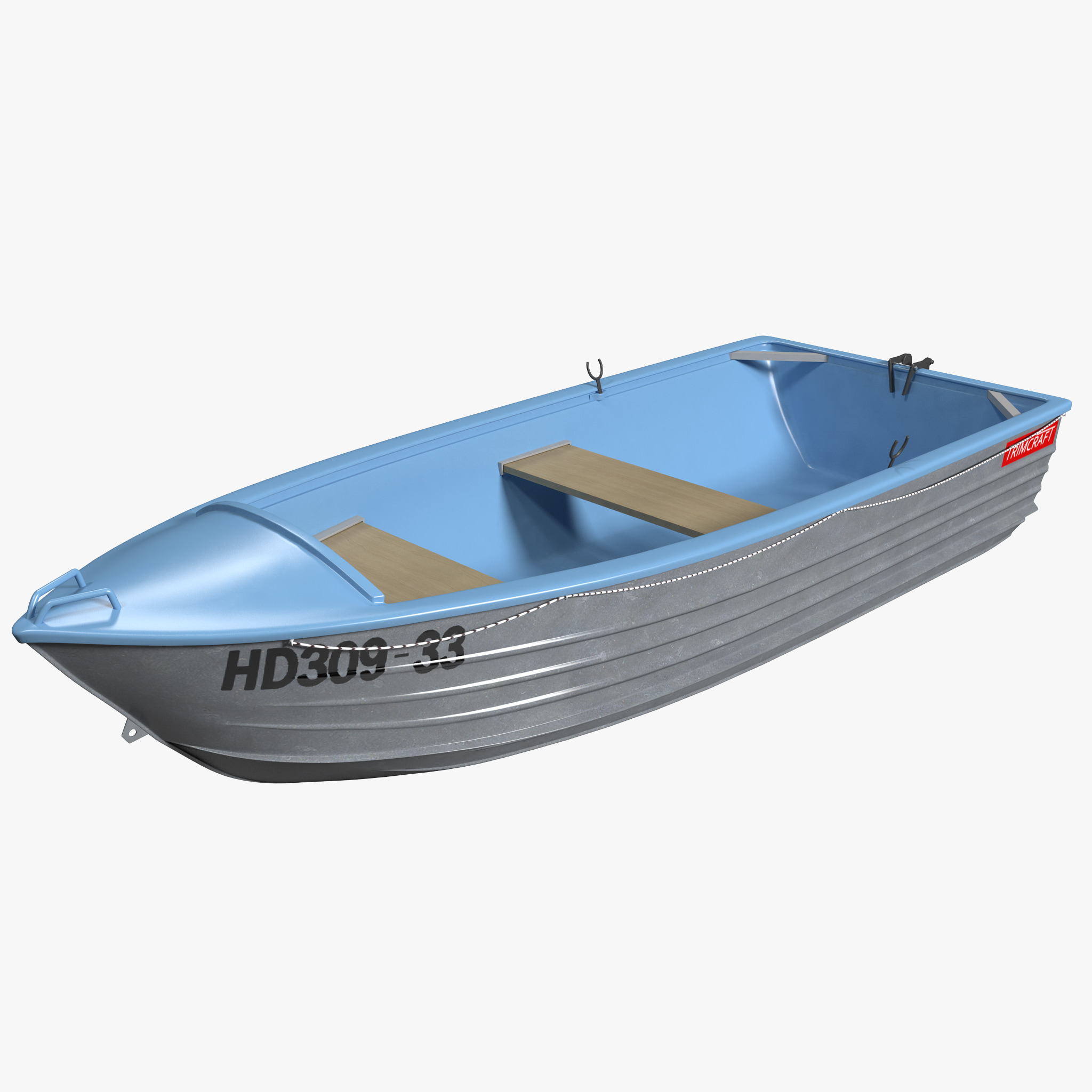 3d model trimcraft boat 4