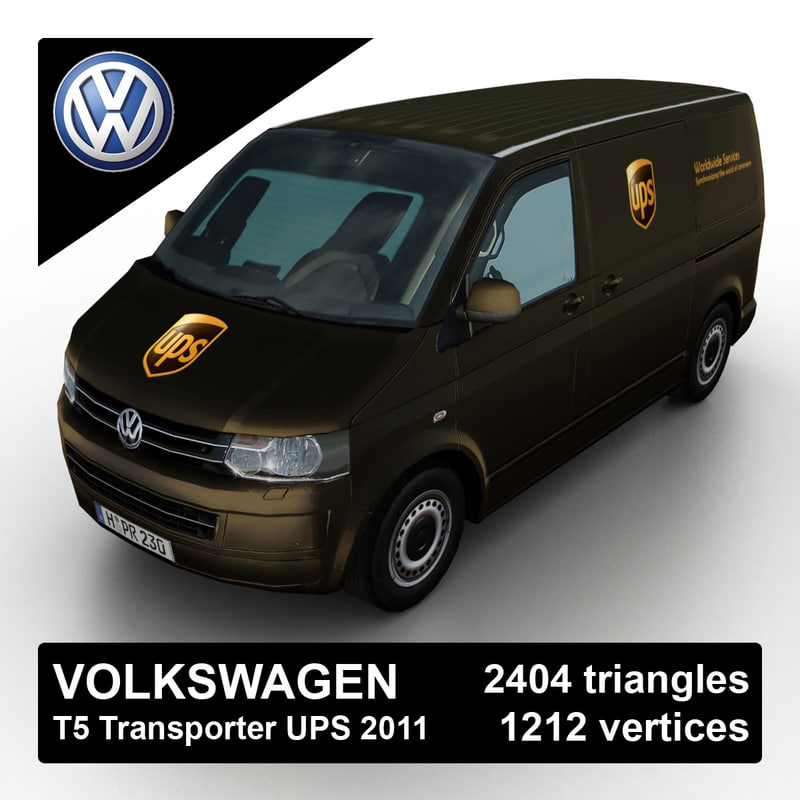 3d model 2011 volkswagen t5 transporter