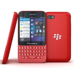 obj blackberry q5 red