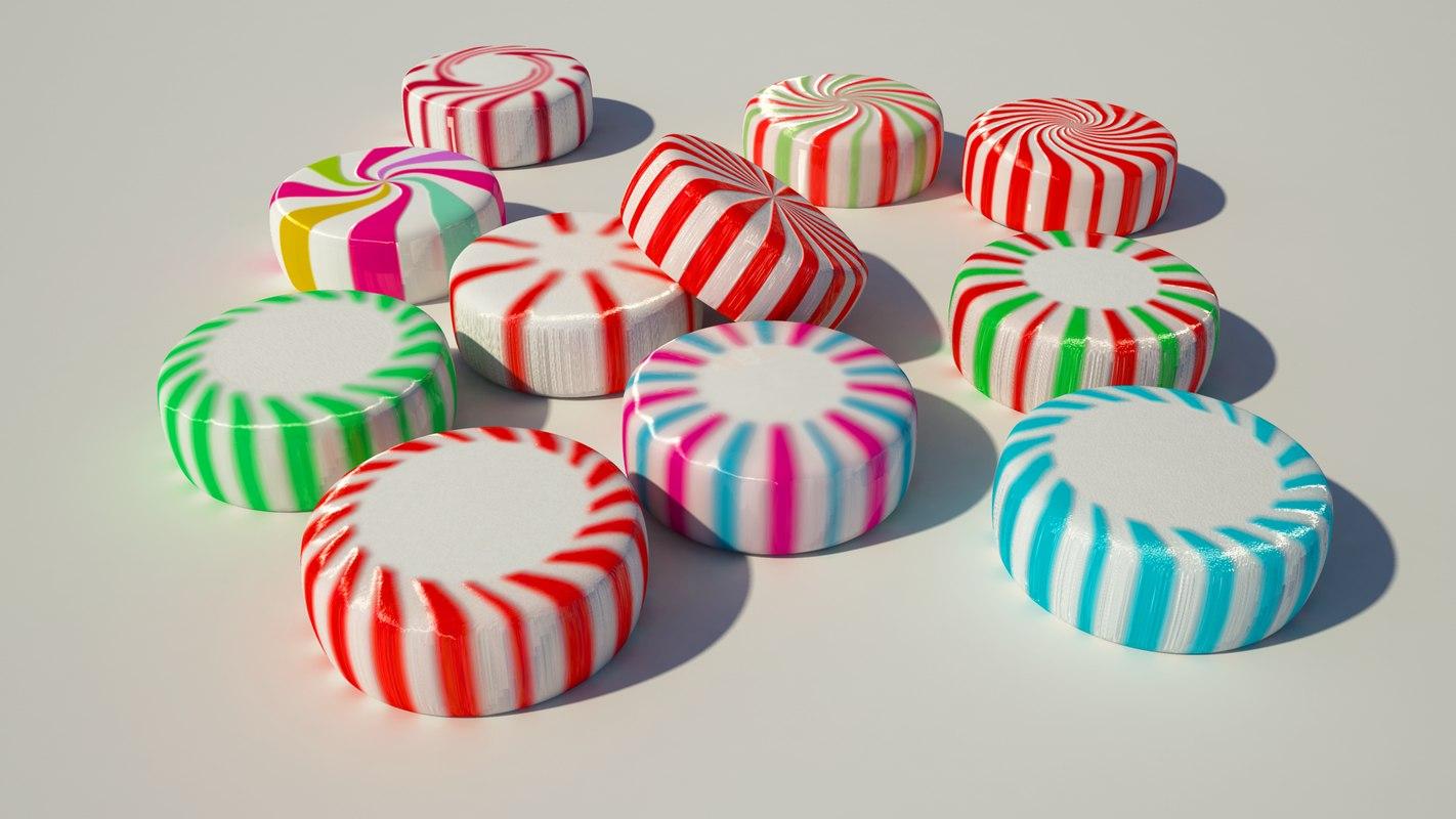 11 candy starlight mint 3d 3ds