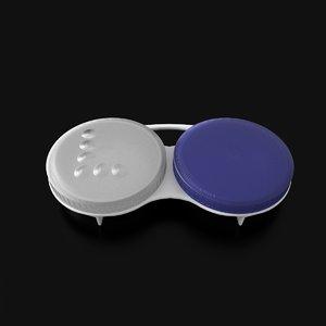 contact lens case 3d obj