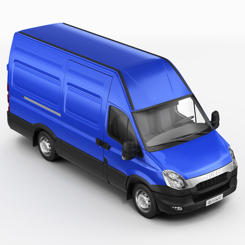 3ds max iveco daily