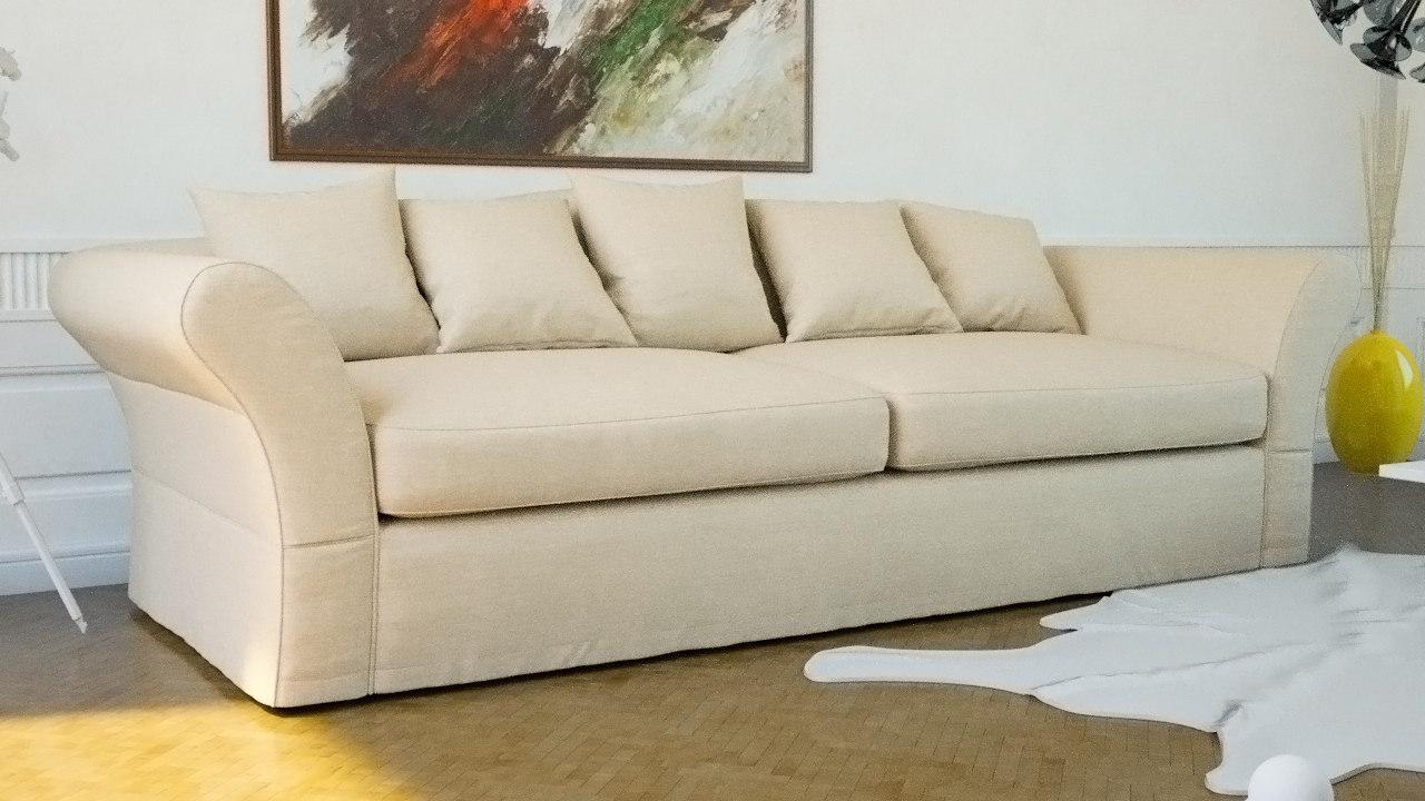 3d model scene sofas