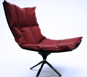 3ds max husk chair