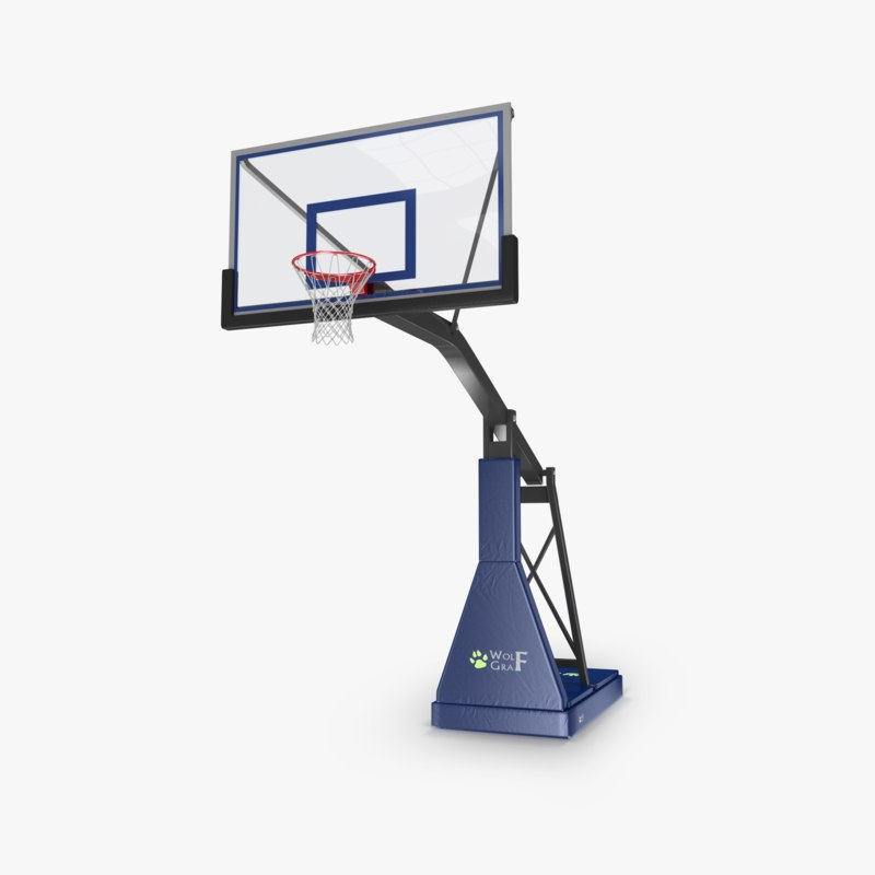 basketball hoop obj