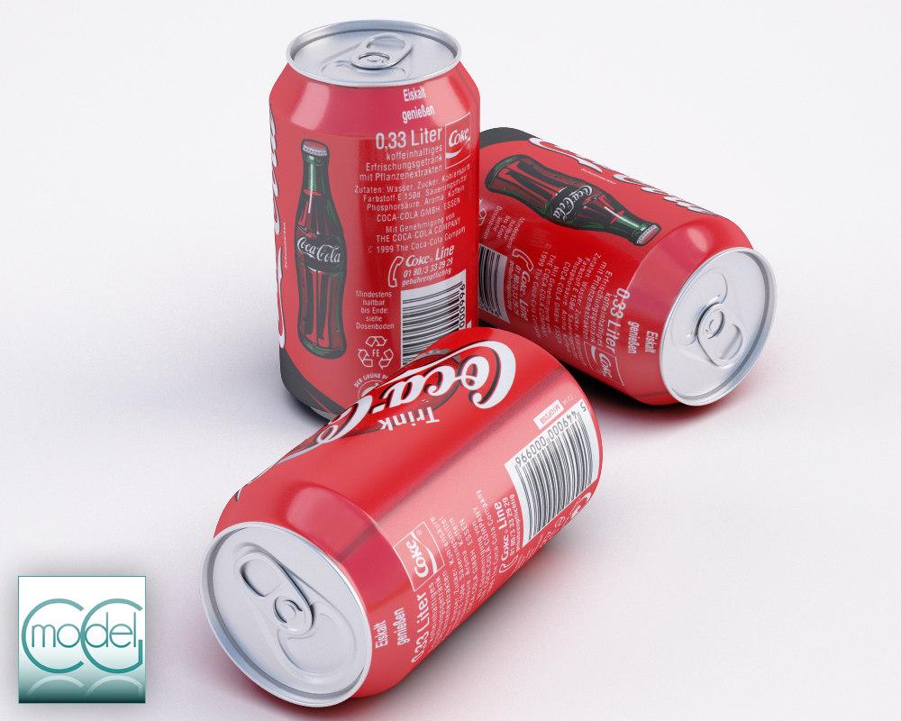 cola 3d obj