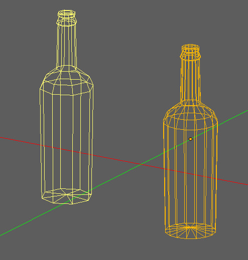 free blend mode wine bottles